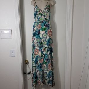 Romeo &Juliet floral strappy maxi dress